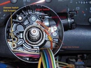 Camaro Firebird and Corvette Steering Column Disassembly | Ls1tech
