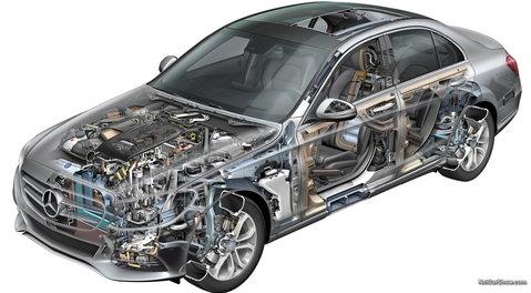 Diagram Of Garage Door Components Mercedes Benz C Class W205 Powertrain Engine Problems