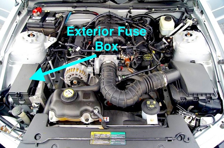 19941998 Ford Mustang Fuse Box Diagram
