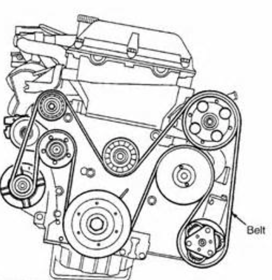 Service manual [2003 Porsche 911 Belt Replacement
