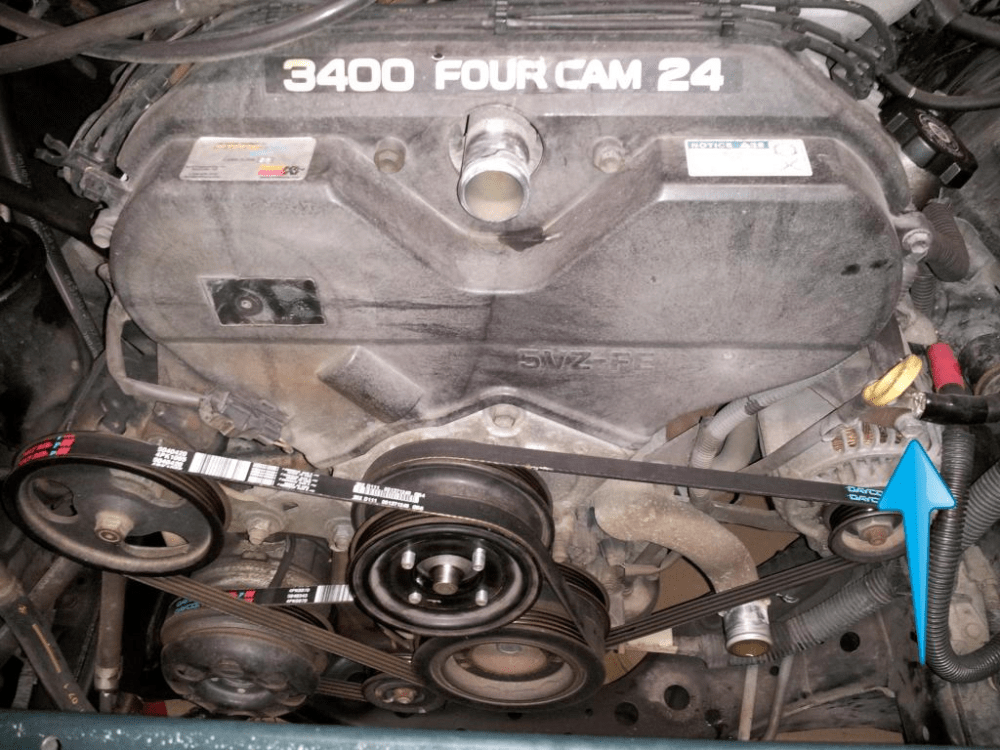 medium resolution of toyota tacoma tundra 4runner 3 4 v6 5uzfe timing belt kit water pump replace remove how to