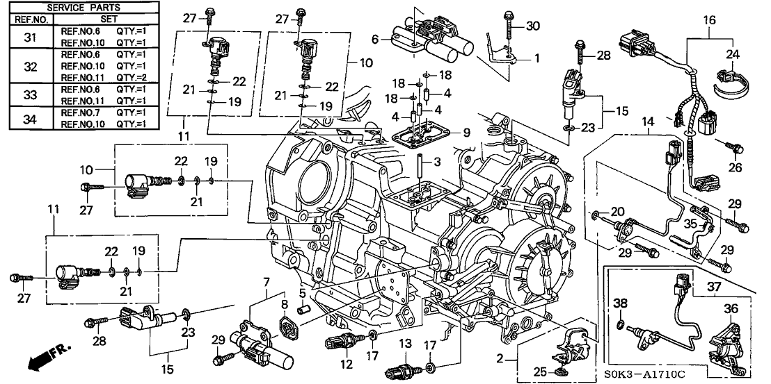 2001 Acura Tl Transmission Diagram, 2001, Free Engine