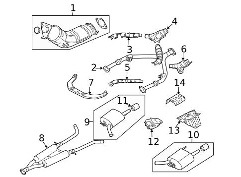 2007 Nissan Versa Exhaust System Diagram 2007 Nissan