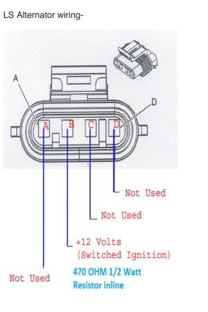 C5 LS1 Alternator Wiring Question  LS1TECH  Camaro and