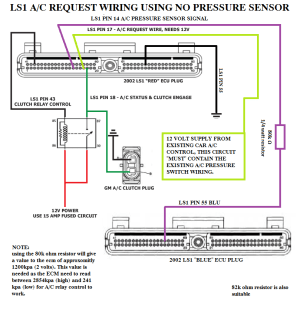AC wiring question yes I did search  LS1TECH  Camaro and Firebird Forum Discussion