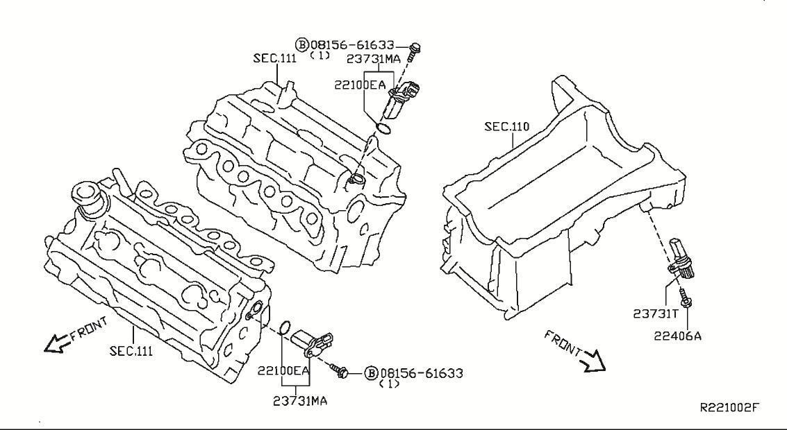 Car cranks wont start, had code for camshaft sensor