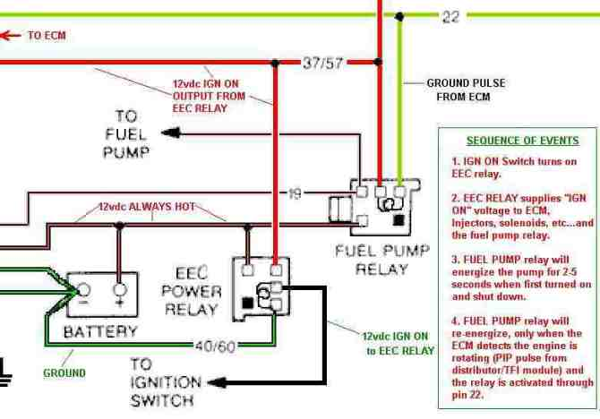 1986 mustang fuel pump wiring diagram  wiring diagrams