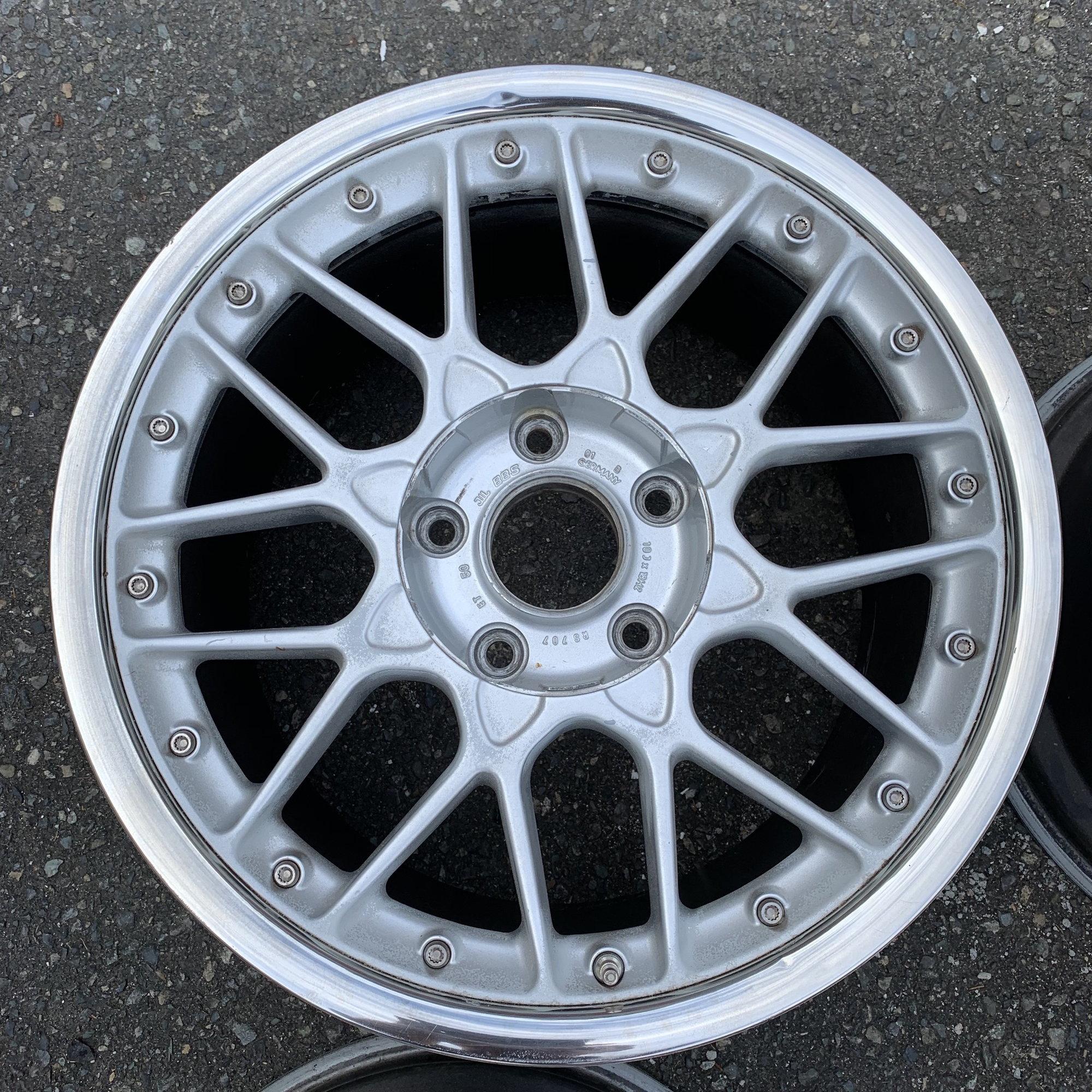 "18"" BBS RS2 Wheels 964 993 NB - 6SpeedOnline - Porsche Forum and Luxury Car Resource"