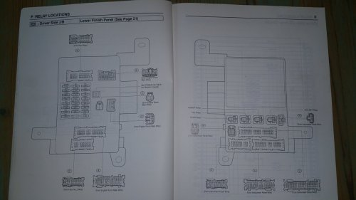 small resolution of  lexus rx330 rx350 es330 671479322995 ebay found this diagram showing the location of the horn relay