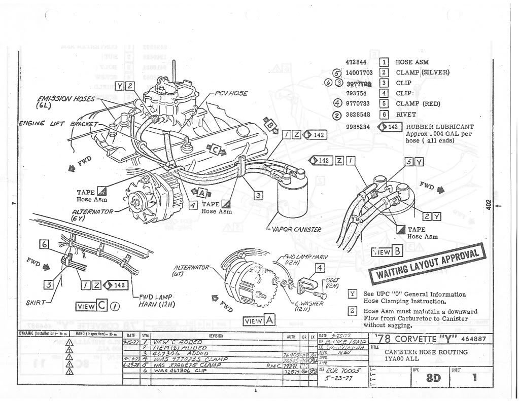 Vette Vapor Canister Diagram Help Corvetteforum. Engine