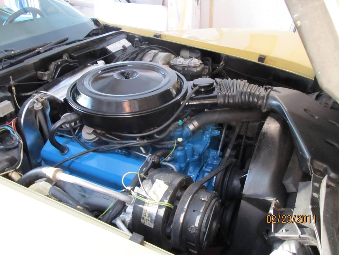 Diagram Corvette 1977 Engine