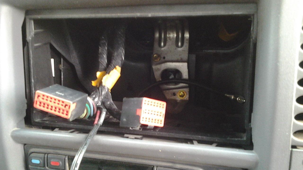 2005 Dodge Durango Radio Wiring Harness