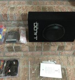 jl audio acp108lg w3v3 and install materials [ 1400 x 1050 Pixel ]
