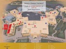 JW Marriott Desert Springs Resort Map