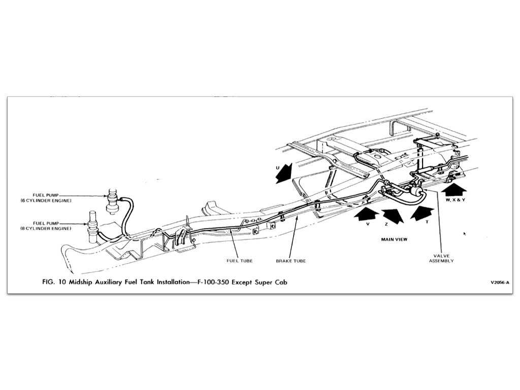 Ford ranger fuel system diagram