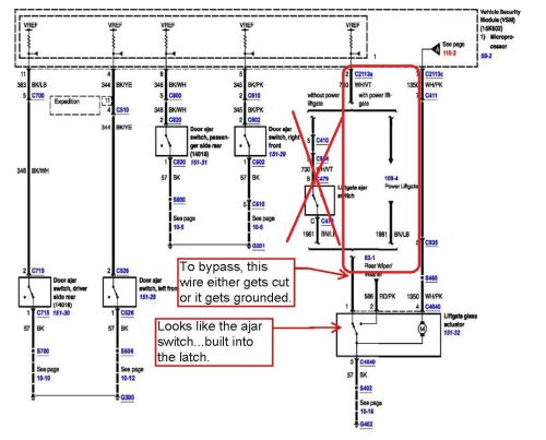 small resolution of lift gate wiring harness diagram wiring librarylift gate wiring harness diagram