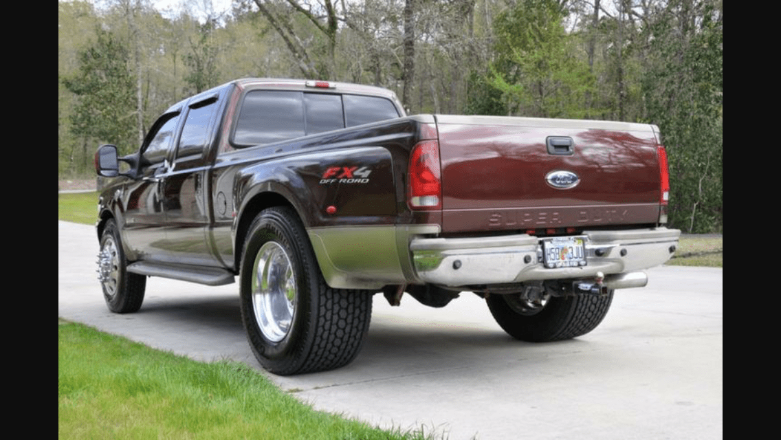 Single Ford Conversion Dually Super