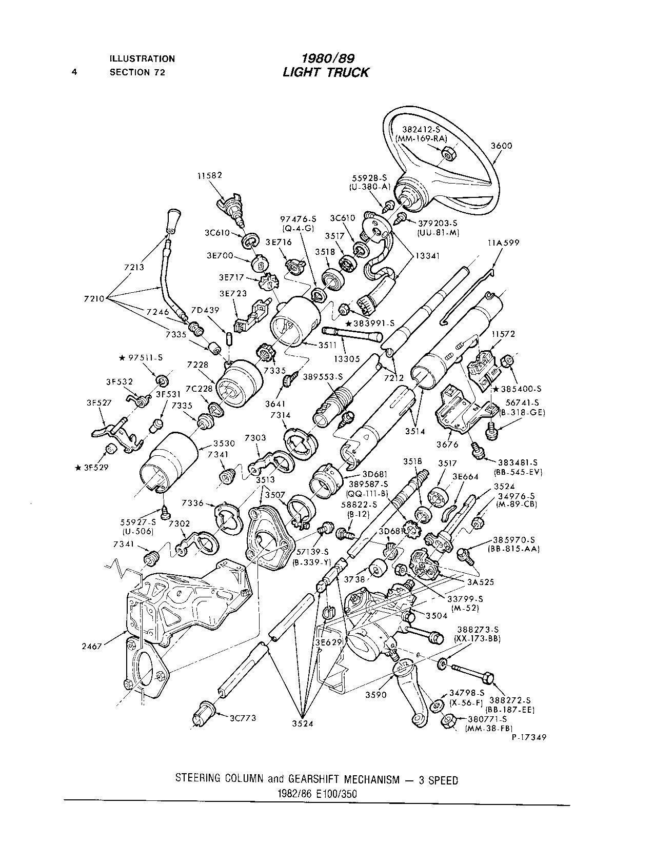 Missing Shifter Mechanism In A 84 E150 3 In A Tree