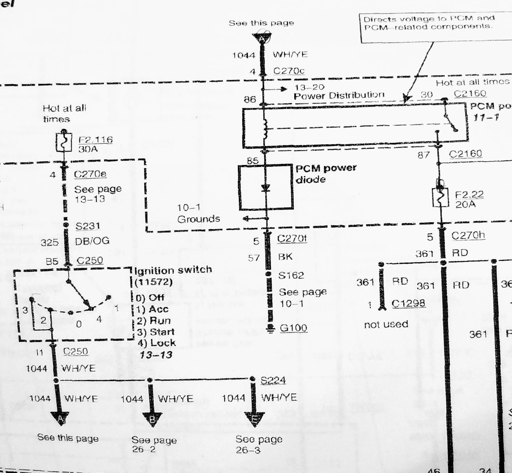 2005 EB 6.0 Excursion PATS like failure cause by PCM relay