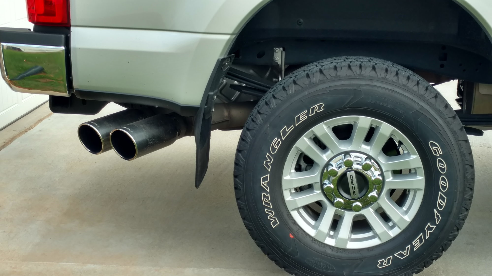 exhaust tip advice ford truck