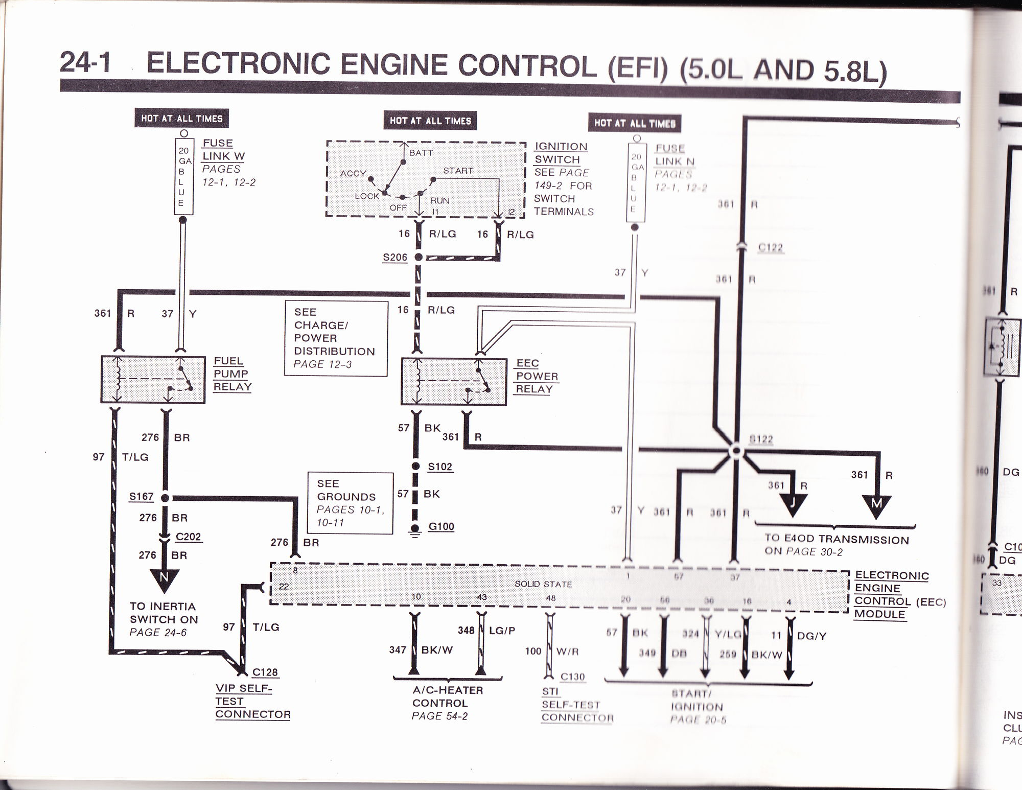 1990 f150 5.0 4wd Fuse problem from Alternator or ?? See