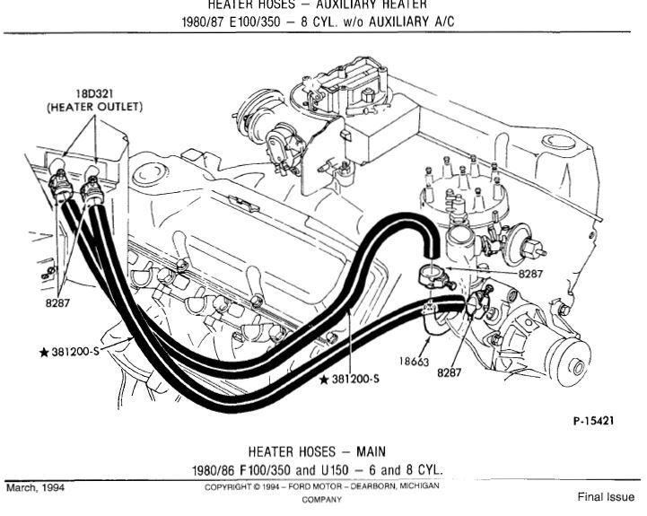97 F150 Engine Diagram Ford 4.2L Engine Diagram Wiring