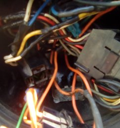 generator i found the orange connector there is no diode probably was removed by the previous owner one more thing there is no generator light on  [ 1120 x 1992 Pixel ]