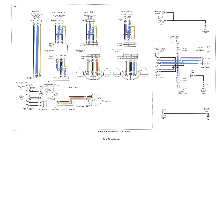 2007 street glide wiring diagram