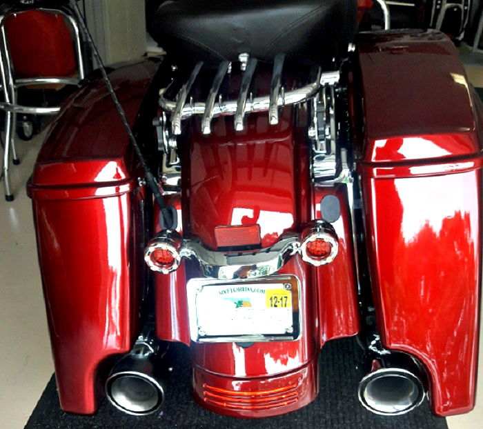 Black Harley Pack Advan Tour