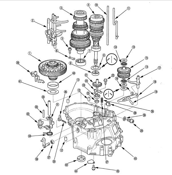 [DIAGRAM] Honda Accord Manual Transmission Diagram FULL