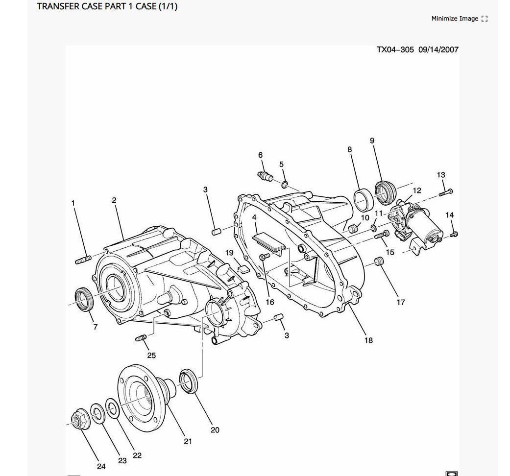 Hummer H3 Transfer Case Shift Fork