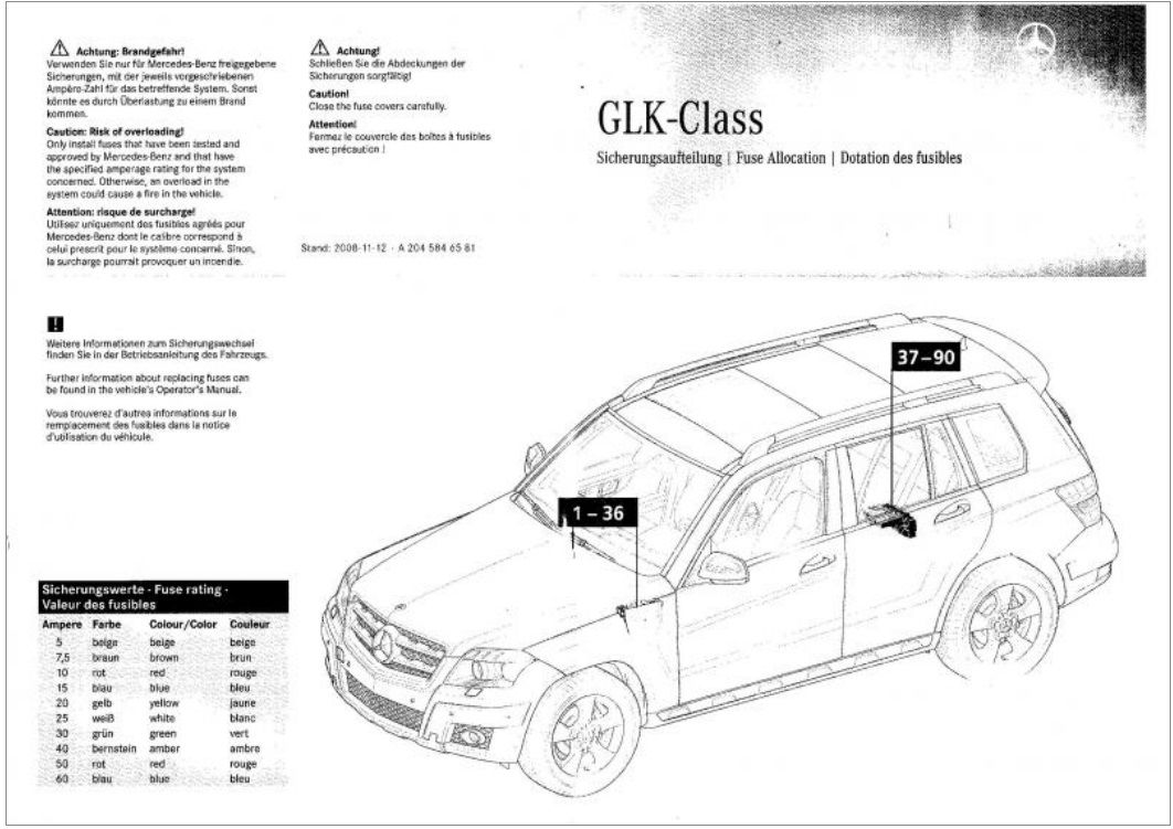 Glk350 2012 Cigerette lighter jammed, need to know where