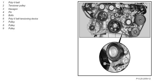small resolution of perhaps to reduce harmonious vibrations occurring in the belt as it passed between the crank pulley and the a c pulley