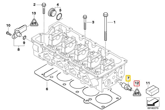 R50/R53 Anyone ever broken their coolant temp sensor