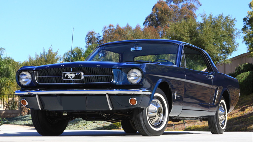 This new model was introduced as a 2. The First Mustang Coupe Ford Built Heads To Auction