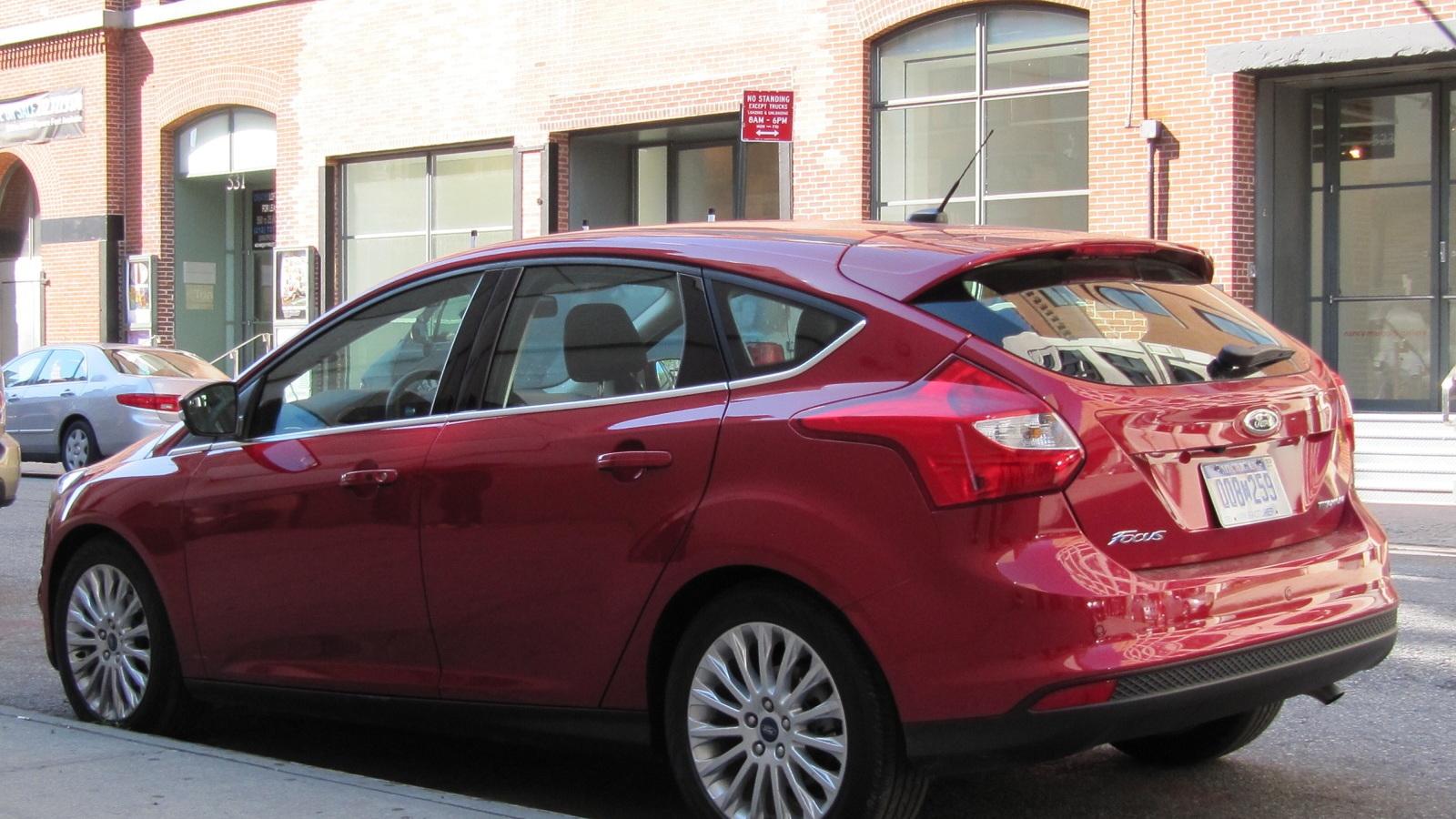 hight resolution of 2012 ford focus titanium hatchback new york july 2011