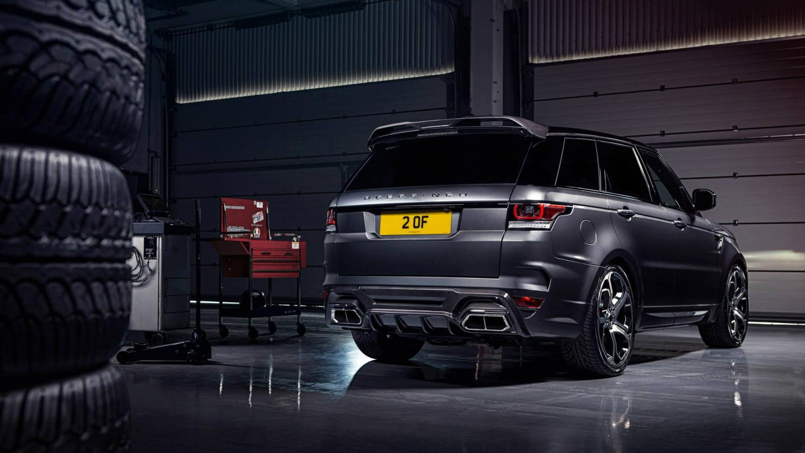 hight resolution of overfinch range rover sport