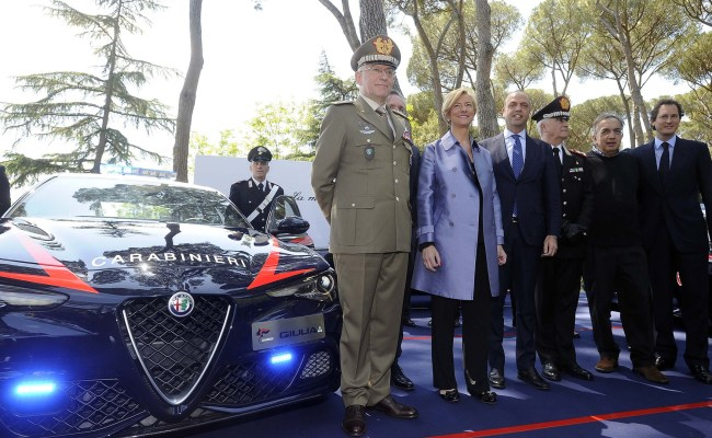 Italian Police Get Their Hands On Alfa Romeo S Giulia