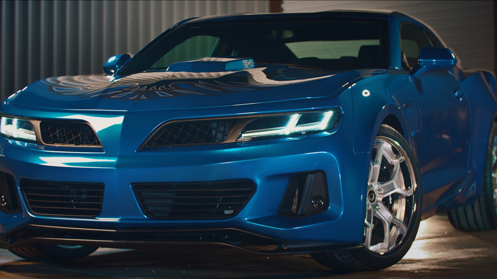 6th Gen Camaro Trans Am Conversion Comes Packing 1000