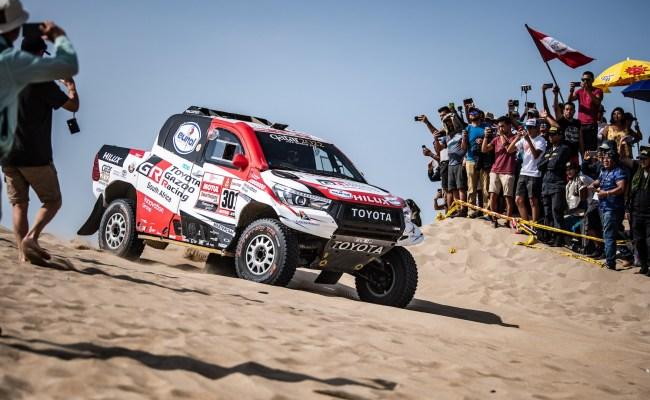 Toyota Hilux Driven To 2019 Dakar Rally Victory
