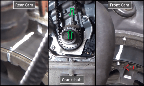 small resolution of acura tl 2004 to 2008 how to replace timing belt water pump and alignment marks acura tsx engine belt diagram