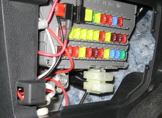 2004 acura tsx interior fuse box. Black Bedroom Furniture Sets. Home Design Ideas