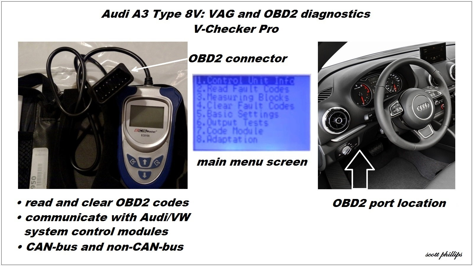 ignition switch and obd live data 1988 36v club car wiring diagram audi a3 tips tricks audiworld