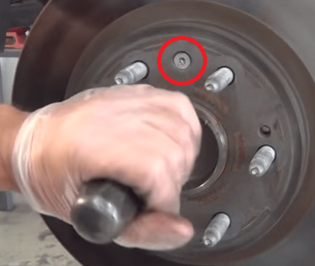 How To Brake Rotor Wheel Bearing Replacement  Chevy S Wd How To Change