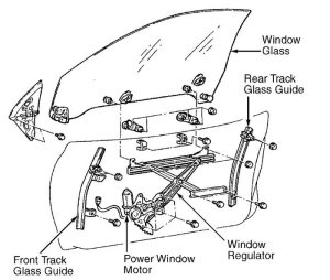 Lexus IS How to Replace Your Power Window Actuator  Clublexus