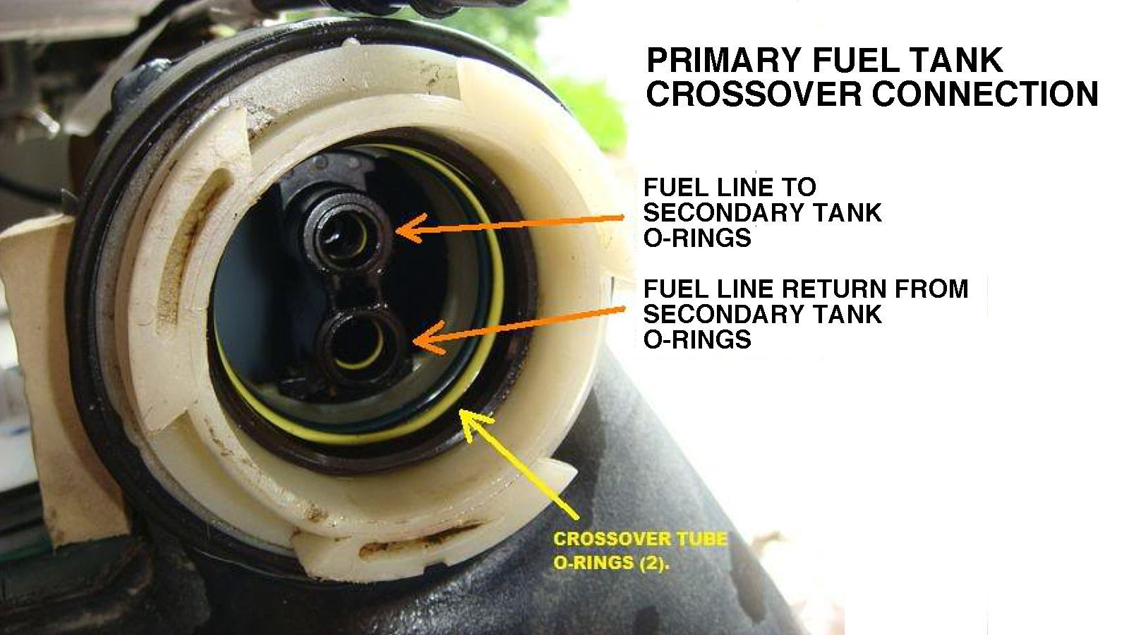 85 chevy pickup fuel filter location