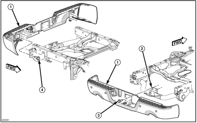 Service manual [How To Remove 1999 Dodge Caravan Bumper