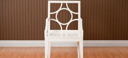how to install chair rail navy blue upholstered a doityourself com by kimberly carver what you ll need