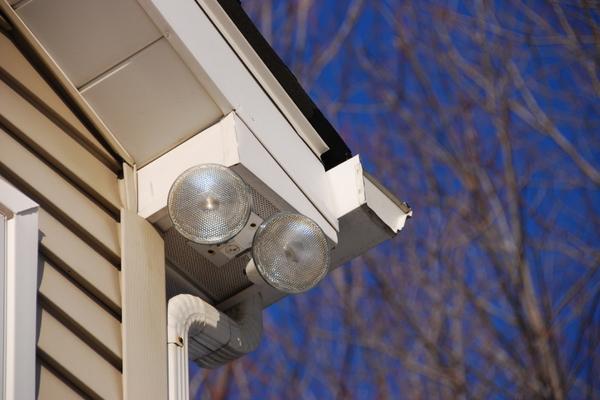 Wiring Exterior Security Light