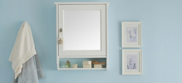 how to replace a medicine cabinet mirror | doityourself